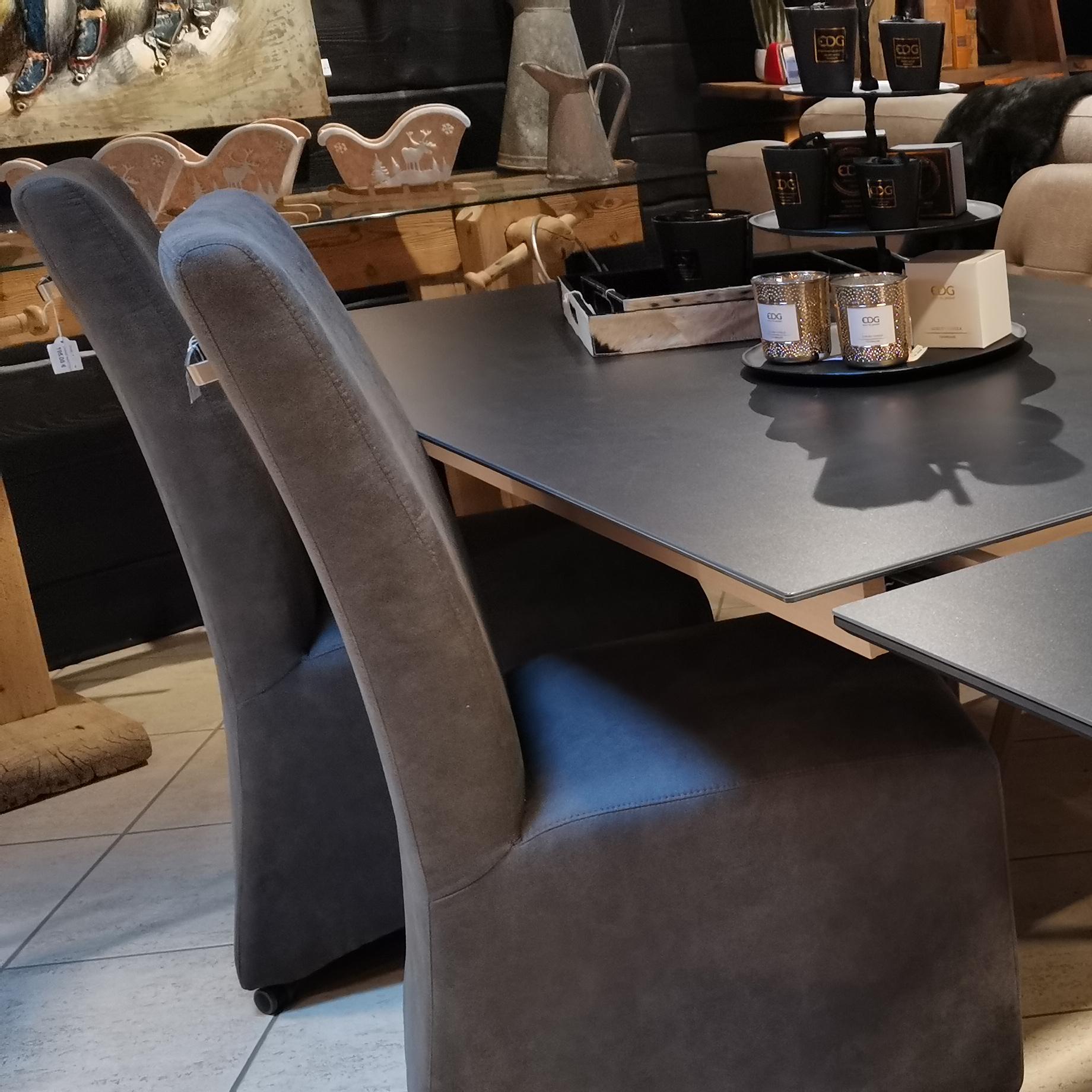 chaise en velours