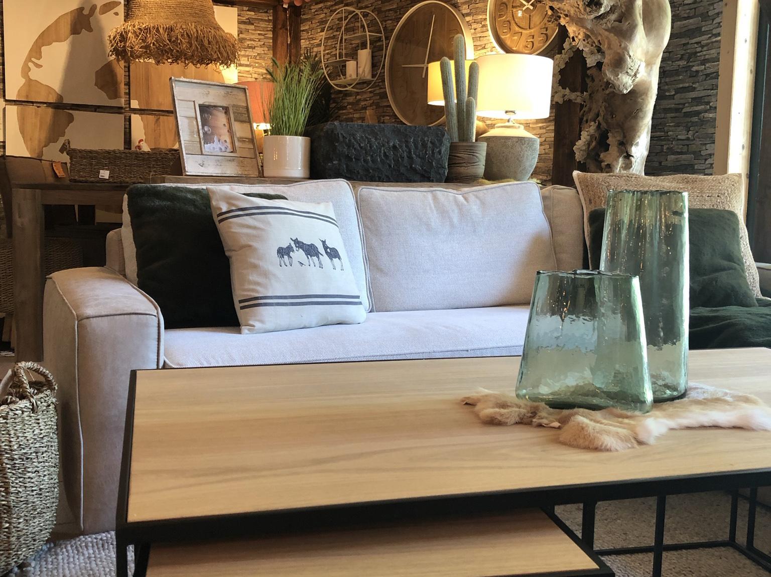 salon avec canapé composable